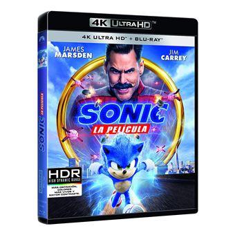 Sonic the Hedgehog (4K Ultra HD) / Sonic: La Pelicula (2Blu-ray)