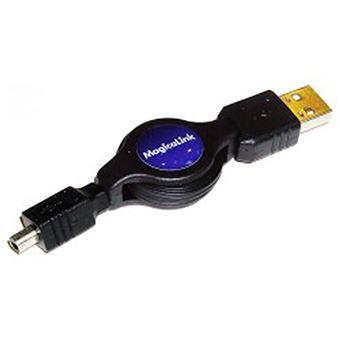 Cabo USB BeMatik de 120cm AM/MiniUSB4Pinm Mitsumi