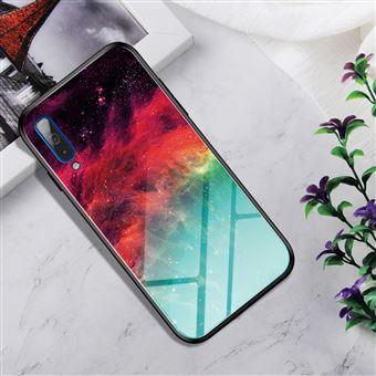 Capa Magunivers para Samsung Galaxy A50 e TPU Híbrido de Cor Gradiente Nebulosa Colorida