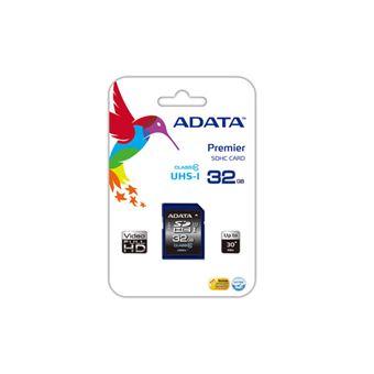 ADATA - Premier SDHC UHS-I de 32GB Class10 U1