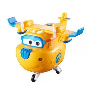Figura de acção Transform-a-Bot Super Wings Transform ?n Talk Donnie Azul e Laranja