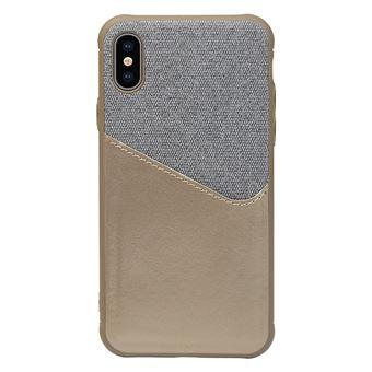 Capa Bicolor WISETONY para Apple iPhone 7 / 8 Dourado