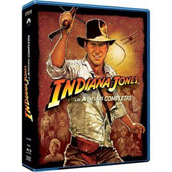 Indiana Jones 1-4 (Edición 2017) (5Blu-ray)