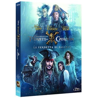 Walt Disney Pictures Pirates of the Caribbean: Dead Men Tell No Tales Blu-ray 2D Alemão, Inglês, Italiano