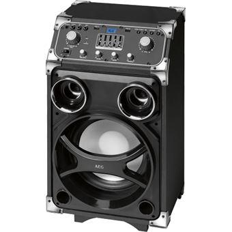 Sistema de som portátil AEG com Bluetooth/ função Karaoke EC 4829