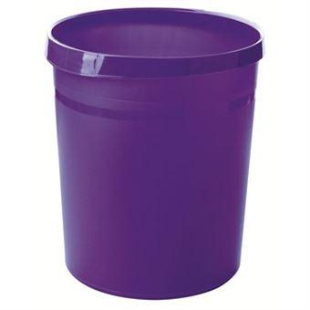 Caixote do Lixo HAN GRIP 18 l Redondo Polipropileno (PP) Lilás