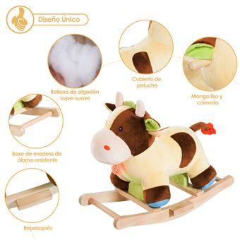 Cadeira de Baloiço Homcom | Vaca