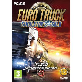 Euro Truck Simulator 2 Gold (PC DVD)