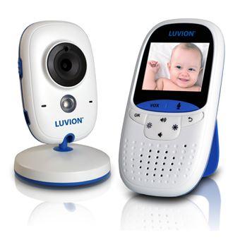 Monitor de Vídeo para Bebé Luvion Easy 250 m RF Azul, Branco