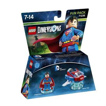 Peça e acessório para consola de jogos Warner Bros Lego Dimensions: Fun Pack DC Superman