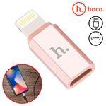 Adaptador iPhone a MicroUSB Hoco iPhone/iPad/iPod Carga e Sincronização