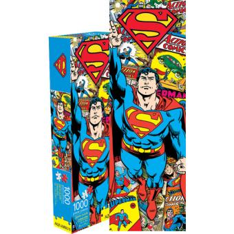 Puzzle Aquarius DC Comics Superman Retro 1000 Pc Slim