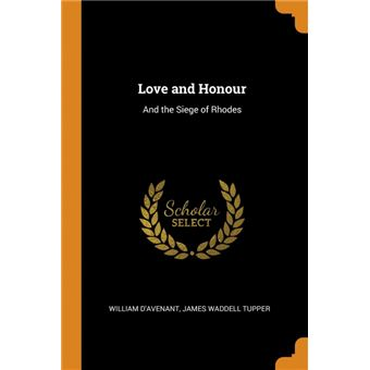 love And Honour Paperback -