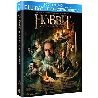 The Hobbit: The Desolation of Smaug (BD + DVD ) / El Hobbit: La Desolacion de Smaug (3Blu-ray)