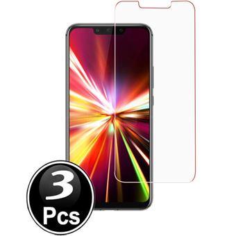 Película Ecrã Vidro Temperado Advansia para Huawei P Smart+ Conjunto de 3