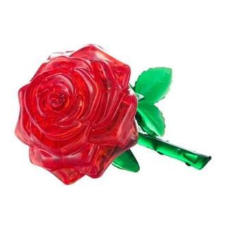Cristal Puzzle 3d Rosa Vermelha Puzzle 3d Compra Na Fnacpt