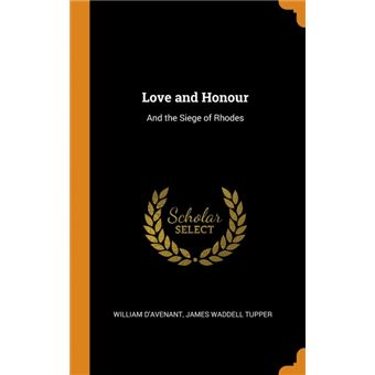 love And Honour Hardcover