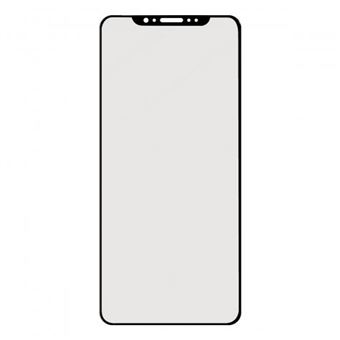 Ksix B0942SC07N protetor de ecrã Apple iPhone XS MAX 1 peça(s) Black e Transparente