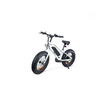 Bicicleta Elétrica EcoXtreM FatBike   250 W - Branco