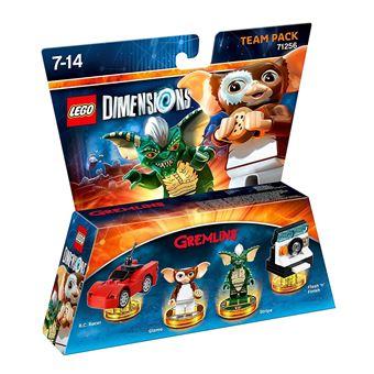 Boneco de montar Warner Bros LEGO Dimensions: Gremlins Team Pack 4peça(s) Multi cor  5051892197335