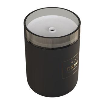 Humidificador qushini Candle Light Preto