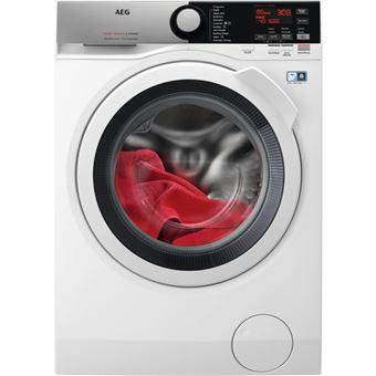 Máquina de Lavar e Secar Roupa Carga Frontal AEG L7WEE861 8Kg A Branco