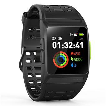 Smartwatch Leotec Training GPS Total Heart Black