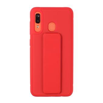 Capa Magunivers de TPU Híbrido com Suporte Magnético Vermelho para Samsung Galaxy A40