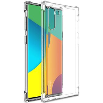 Capa Magunivers de TPU Resistente a Choques Flexível Transparente para Samsung Galaxy Note 10/Note 10 5G