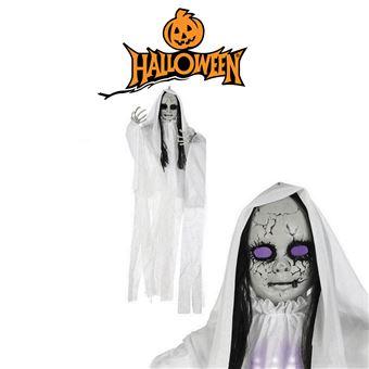 Fantasma Suspenso vidaXL 100 x 70cm Leve Branco