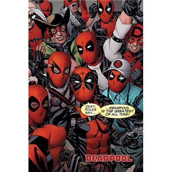 Poster em Tubo GB Posters Deadpool Seflie 61 x 91.5 cm