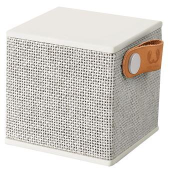 Coluna Portátil Fresh 'n Rebel Rockbox Cube Fabriq Edition Bluetooth Speaker | Cloud Cinzento