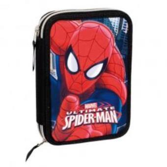 Estojo Homem Aranha Marvel Ultimate Dois Compartimentos