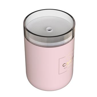 Humidificador qushini Candle Light Rosa