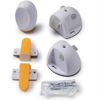 Cadeado para segurança de crianças safety 1st 3202002100 bloqueio magnético para proteção infantil cinzento
