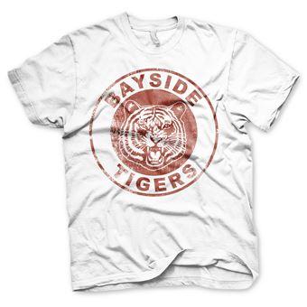 T-shirt Bayside Tigers Washed Logo | Branco | S