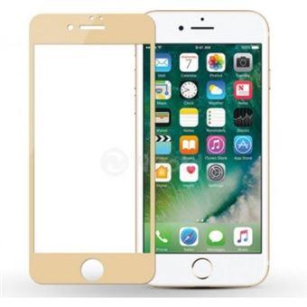 Película Ecrã de Vidro Temperado Lmobile 5D Full Cover para iPhone 7 / iPhone 8 Dourado Simples