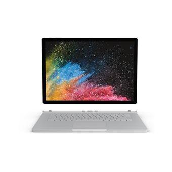 """Portátil Híbrido Microsoft Surface Book 2 2 i7 16GB SSD 512GB 15"""" Prateado"""