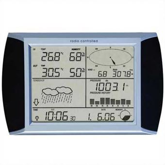 Estação Meteorológica Velleman com Ecrã Digital e Ligação PC