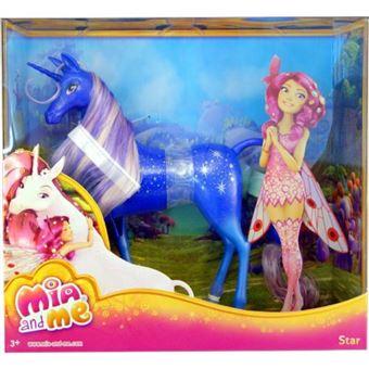 Conjunto Bonecos Mattel Mundos De Mia Unicórnio Estrela