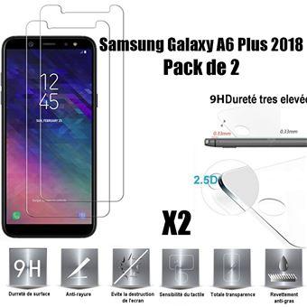 Película Ecrã Vidro Temperado Advansia para Samsung Galaxy A6 Plus 2018 Conjunto de 2
