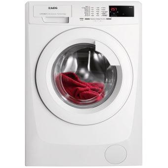 Máquina de Lavar Roupa Carga Frontal AEG L68280FL 8Kg A+++ Branco