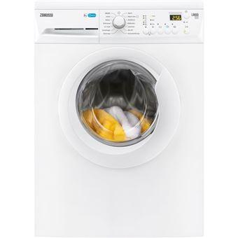 Máquina de Lavar Roupa Carga Frontal Zanussi ZWF81243W 8Kg A+++ Branco