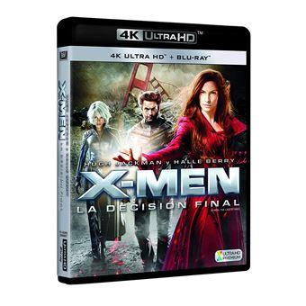 X3 (X-Men 3: The Last Stand) (4K Ultra HD) / X-Men 3 La Decisión Final Blu-Ray Uhd (2Blu-ray)