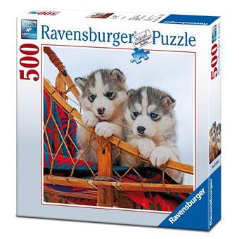 Toyland Ravensburger 15230 - Cachorros Husky 500 Peças