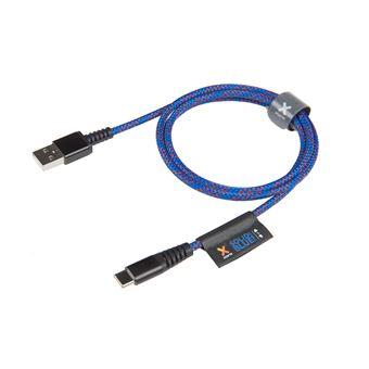 Xtorm CS030 1m USB A USB C Macho Macho Azul cabo USB