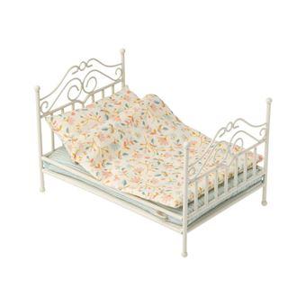 Cama Maileg Vintage Bed Micro | Compatível com Brinquedos Maileg - Soft Sand