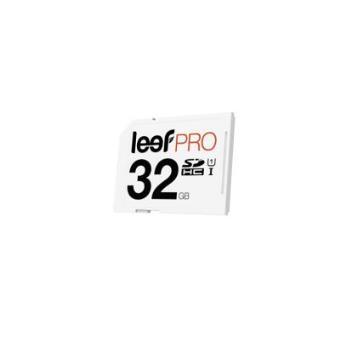 cartão de memória Leef PRO 32GB SDHC UHS-I  Class 10  Marfim/Preto