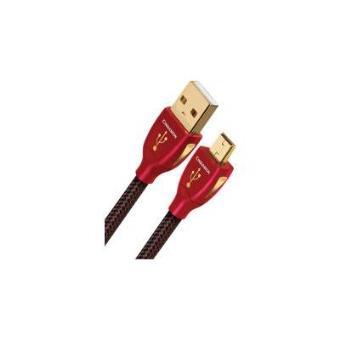 AudioQuest 3m Cinnamon Mini-USB cabo USB USB A Mini-USB B Preto