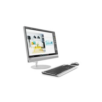 Desktop All-in-one Lenovo 520 i3 2,3 GHz 8GB HDD+SSD 1128GB Prateado